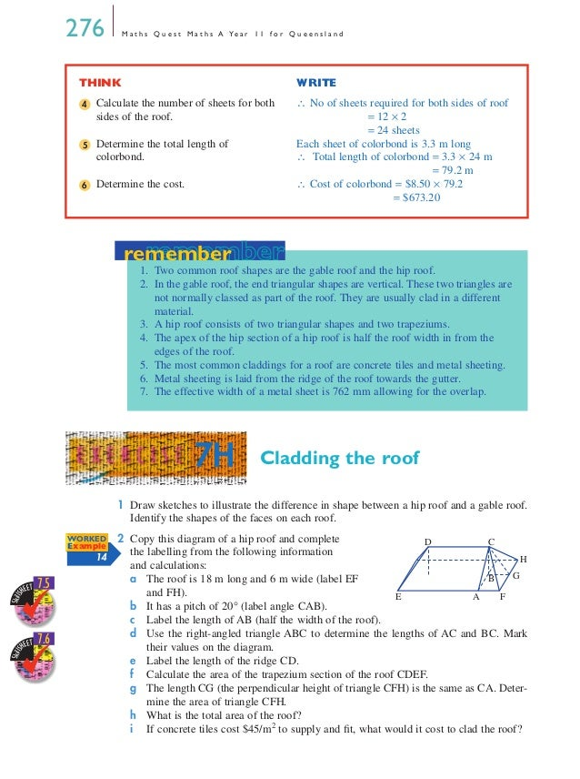 Maths A - Chapter 7
