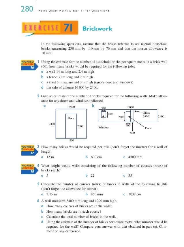 Maths A Chapter 7