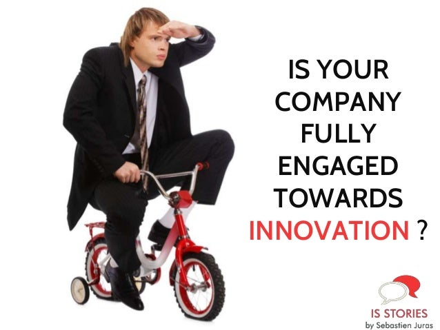IS YOUR COMPANY FULLY ENGAGED TOWARDS INNOVATION ?
