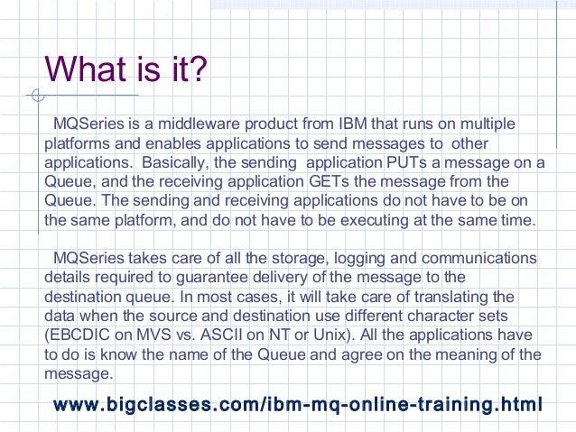 IBM MQ Online Tutorials