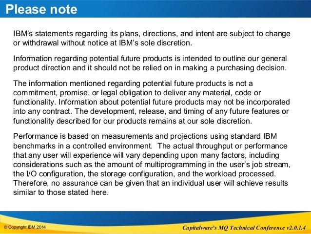WebSphere MQ JMS 2.0 - Capitalware MQTC Conference Slide 2