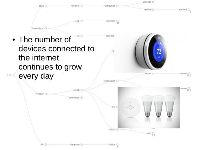 ●   The number of    devices connected to    the internet    continues to grow    every day