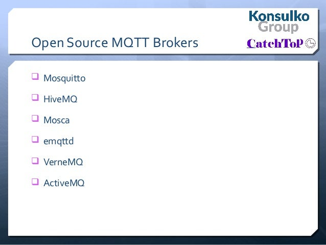 Connecting Internet of Things to the Cloud with MQTT