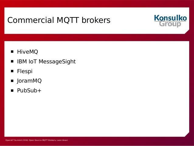 Open Source MQTT Brokers