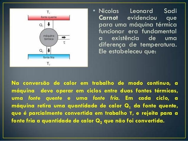 1 Lei e 2 lei da termodinamica
