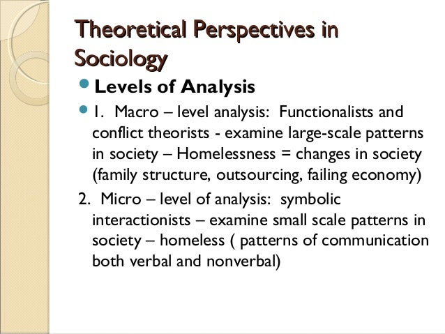 sociology functionalist and conflict perspective of child abuse A look at the conflict and functionalist perspectives (2006  main perspectives of sociology abuse  important point for sullivan concerns child-rearing.
