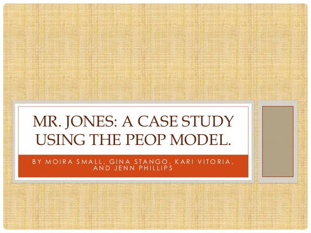 jones case study Free essay: keeping up with the jones's case study directions: complete parts 1-6 of this case study hyperlink.