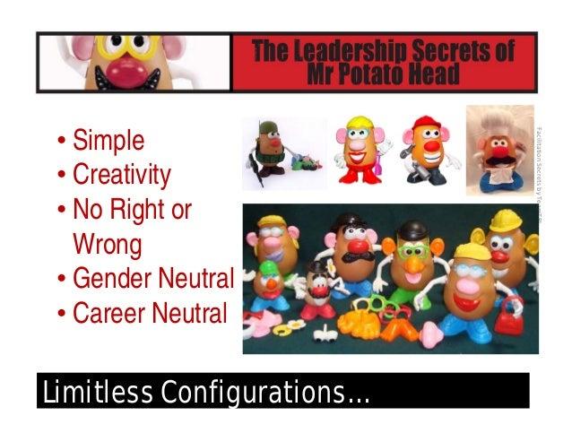 FacilitationSecretsbyTeamTRI Mr. Potato Head's Facilitation Secrets