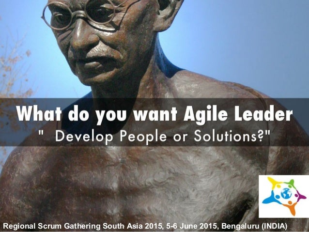 Regional Scrum Gathering South Asia 2015, 5-6 June 2015, Bengaluru (INDIA)