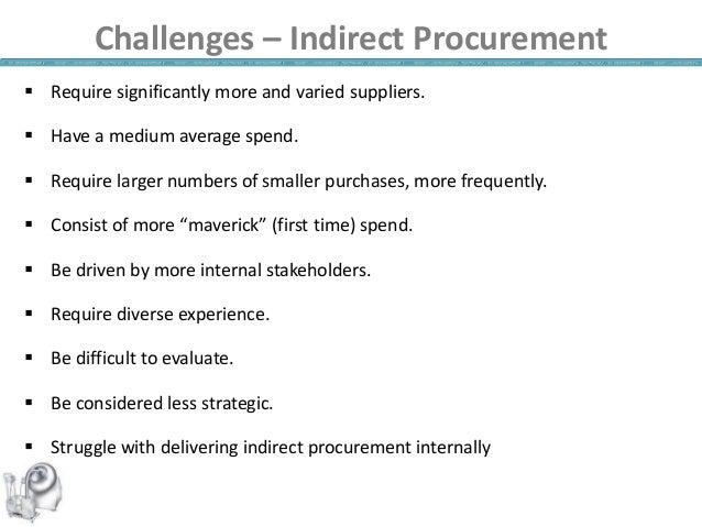 indirects procurement