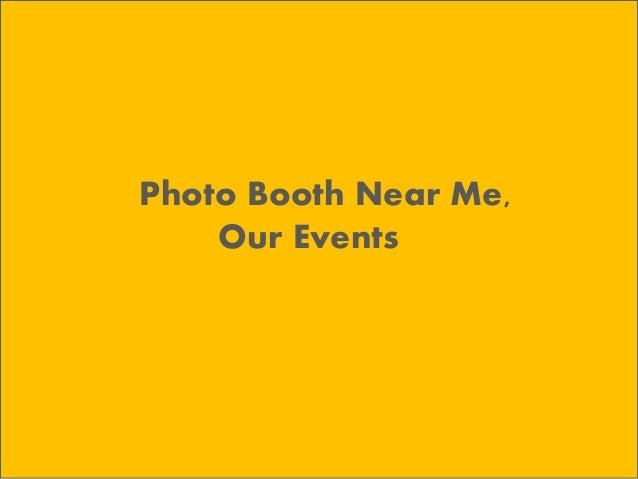 photo booth near me