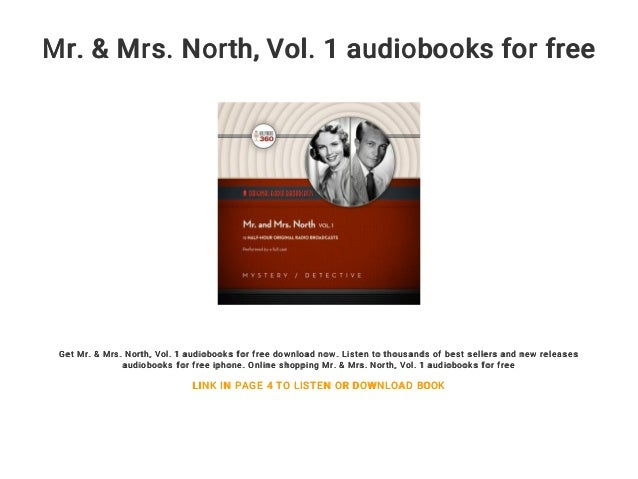 Mr Mrs North Vol 1 Audiobooks For Free