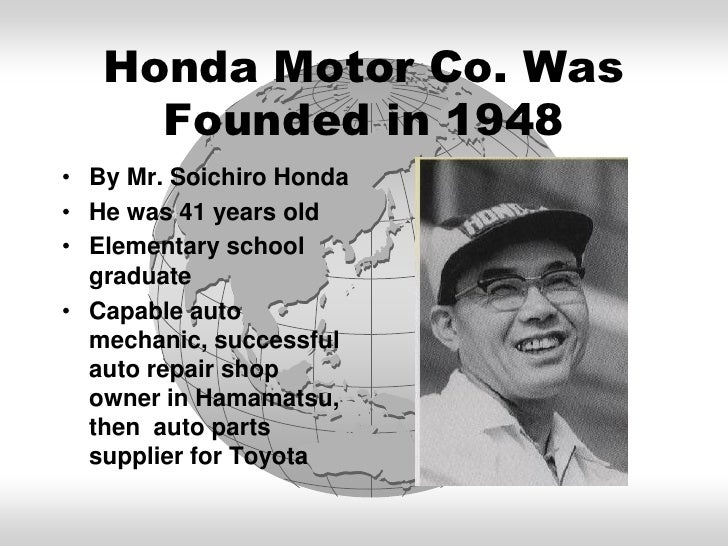 Born Global Grow What To Learn From Honda