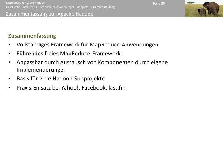 MapReduce & Apache Hadoop