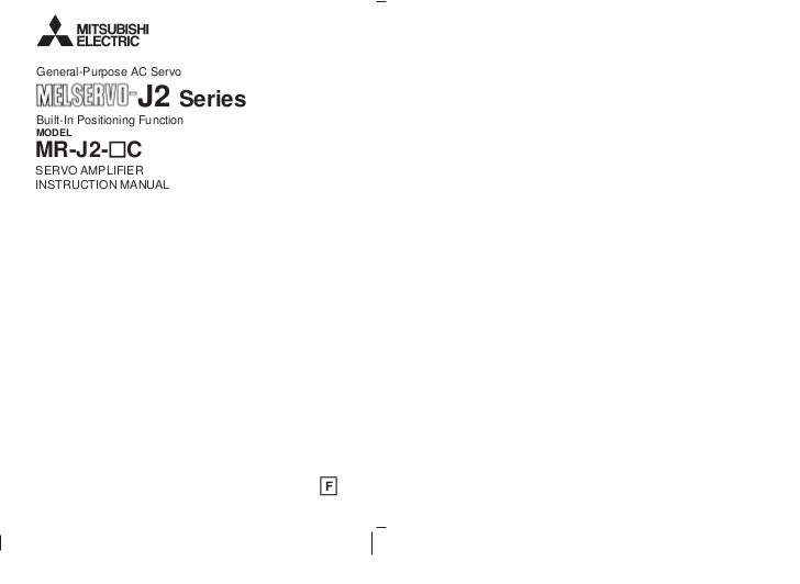 mr j2 c servo amplifier instruction manual rh slideshare net mr-j2s-200a user manual mrj2s user manual