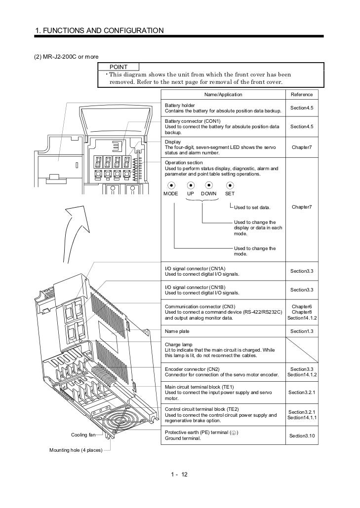 Mr J2 C Servo Amplifier Instruction Manual