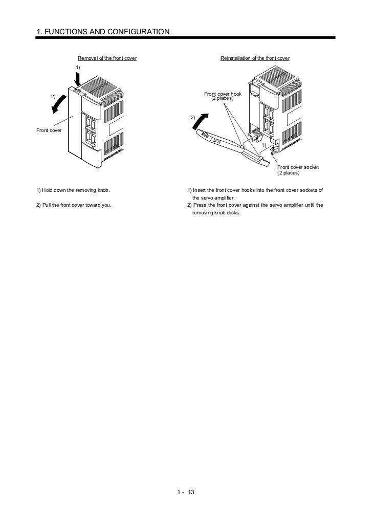 Mr j2-c servo-amplifier_(instruction_manual)
