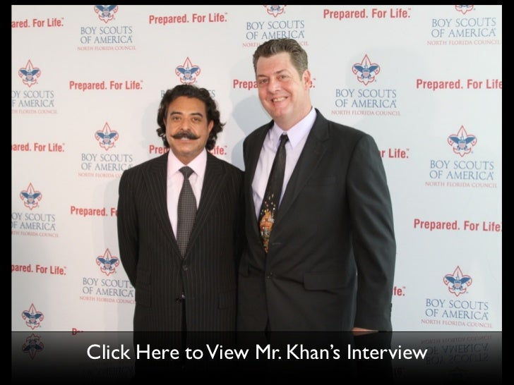 Click Here to View Mr. Khan's Interview