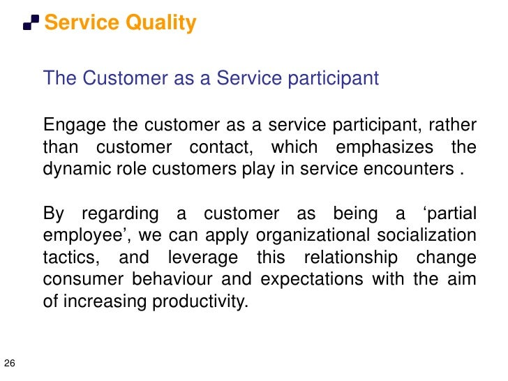 tqm in manufacturing and service organizations The just-in-time philosophy also can be applied to the production of services we have already discussed some of the elements of the jit system used u a mcdonald's restaurant in general, service environments may benefit from jit systems if their operations are repetitive, have reasonably high volumes,.