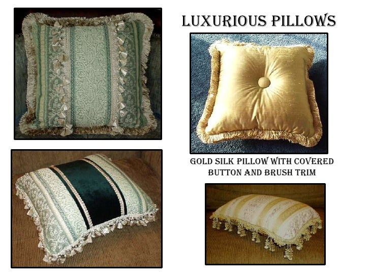 pillow with onion trim 8 - Decorator Pillows
