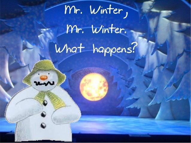 Resultado de imagen de mr winter
