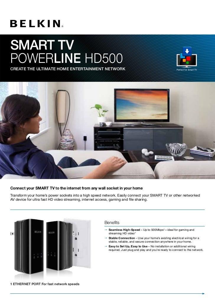 Smart TV Powerlinehd500_pb_uk