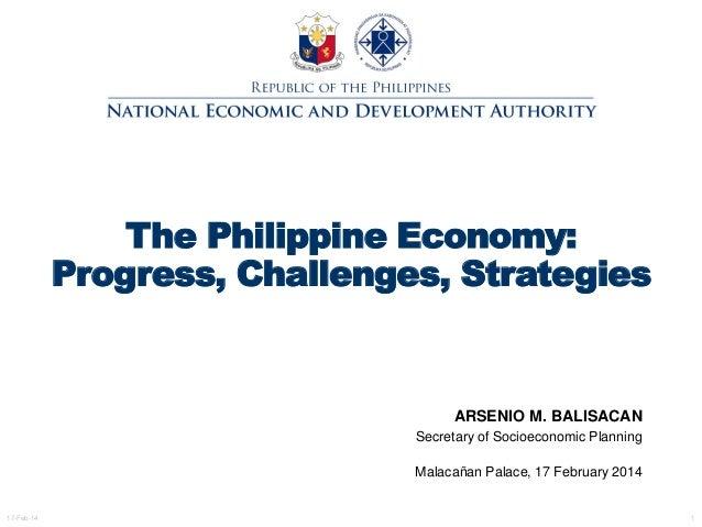 The Philippine Economy: Progress, Challenges, Strategies ...