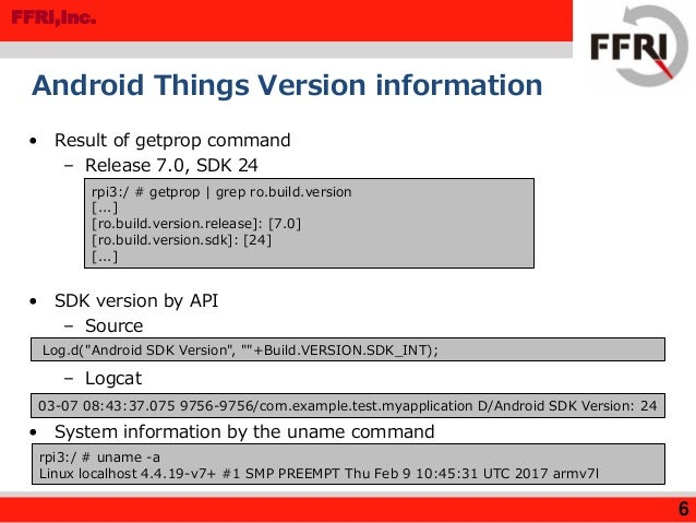 Android Things Security Research in Developer Preview 2