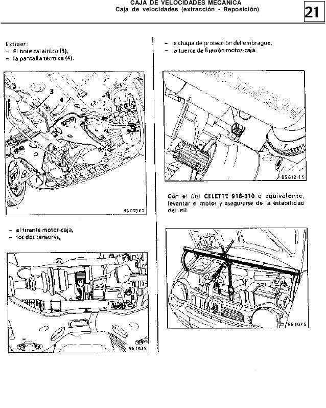 Manual de Reparacion MR305 Twingo 1(Embrague, caja de