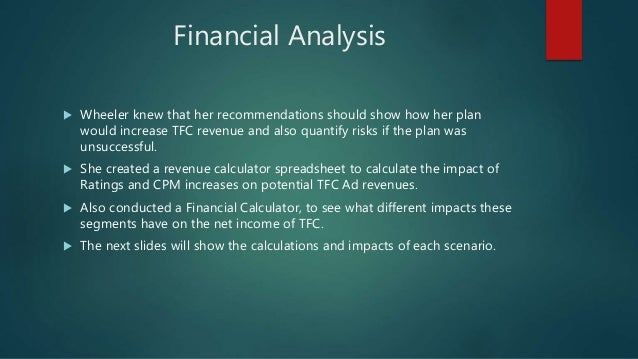 the fashion channel tfc and calculate financial forecasts for segments of tfc Idc forecasts that the market for  is a non-gaap financial measure we calculate by dividing  experienced financial difficulties in the past a channel.