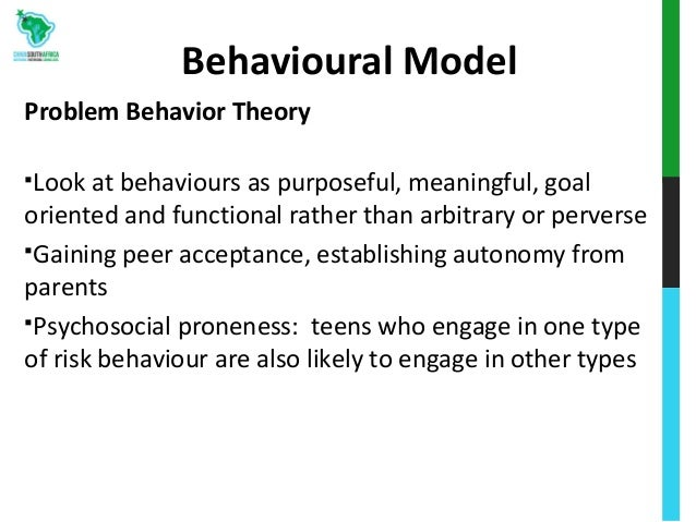 Risk taking behaviours theories