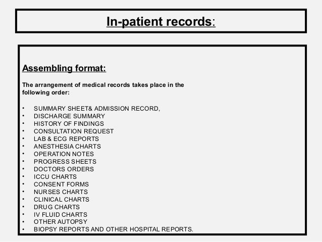 request copies of medical records