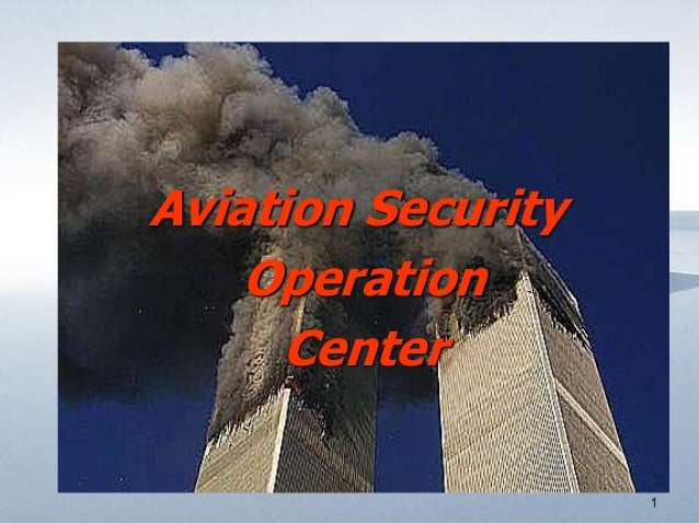Aviation Security Operation Center
