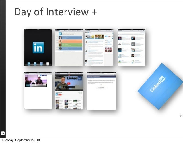 38 Day  of  Interview  +   Tuesday, September 24, 13