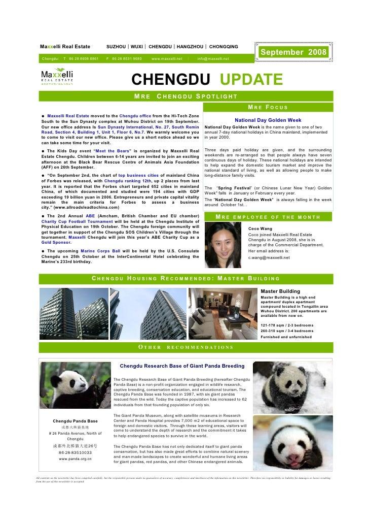 Maxxelli Real Estate                                      SUZHOU | WUXI | CHENGDU | HANGZHOU | CHONGQING                  ...