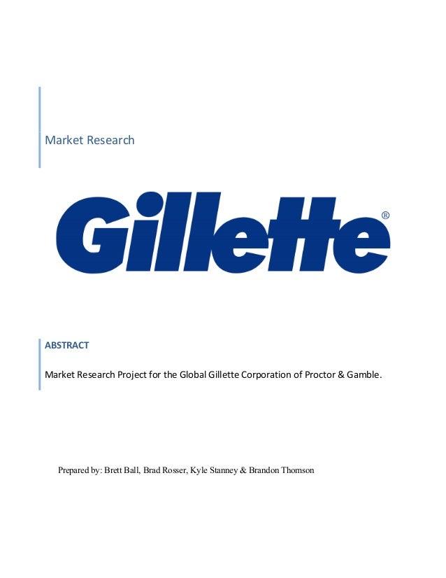 Gillette Market Research Report