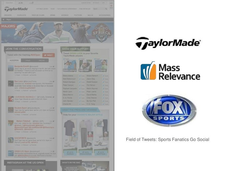 THE SITUATION                Field of Tweets: Sports Fanatics Go Social