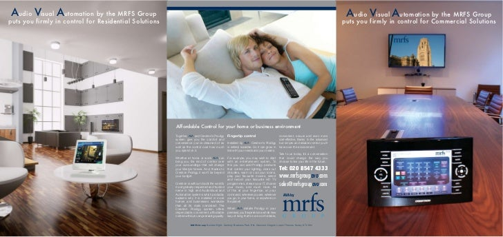 Audio Visual Automation by the MRFS Group                                                                                 ...