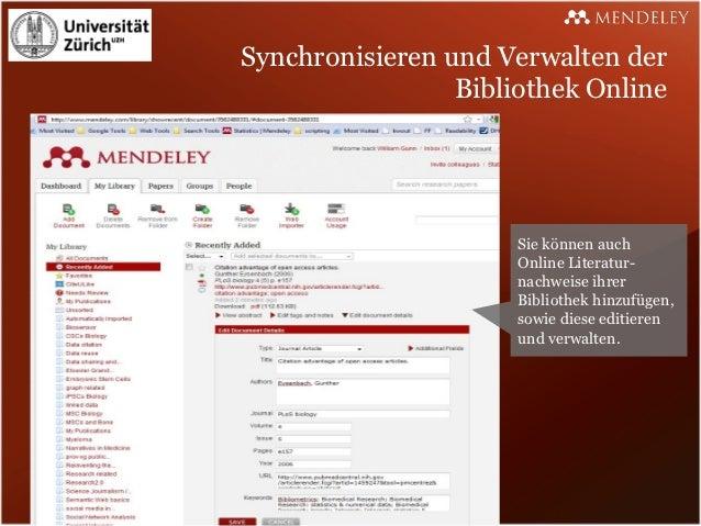 Synchronisieren und Verwalten der                 Bibliothek Online                      Sie können auch                  ...