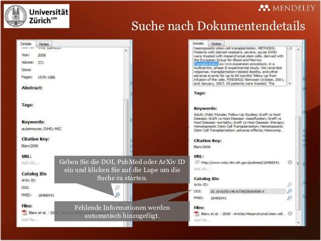 Suche nach DokumentendetailsGeben Sie die DOI, PubMed oder ArXiv ID ein und klicken Sie auf die Lupe um die            Suc...