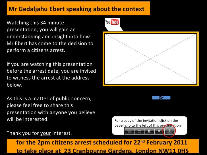 Watching this 34 minute presentation, you will gain an understanding and insight into how Mr Ebert has come to the decisio...