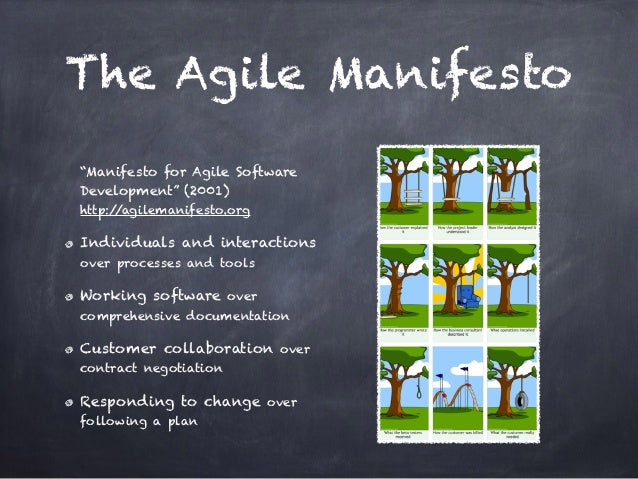 Agile  Methodologies  Agile <=> agile principles  Examples:  Scrum - focus on agile management and on how to better  organ...