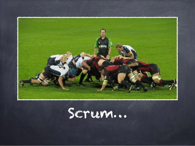 """Scrum basics  3 roles:  Product Owner, ScrumMaster, """"Team""""  short iterations:  incremental, highest value first  feedback ..."""