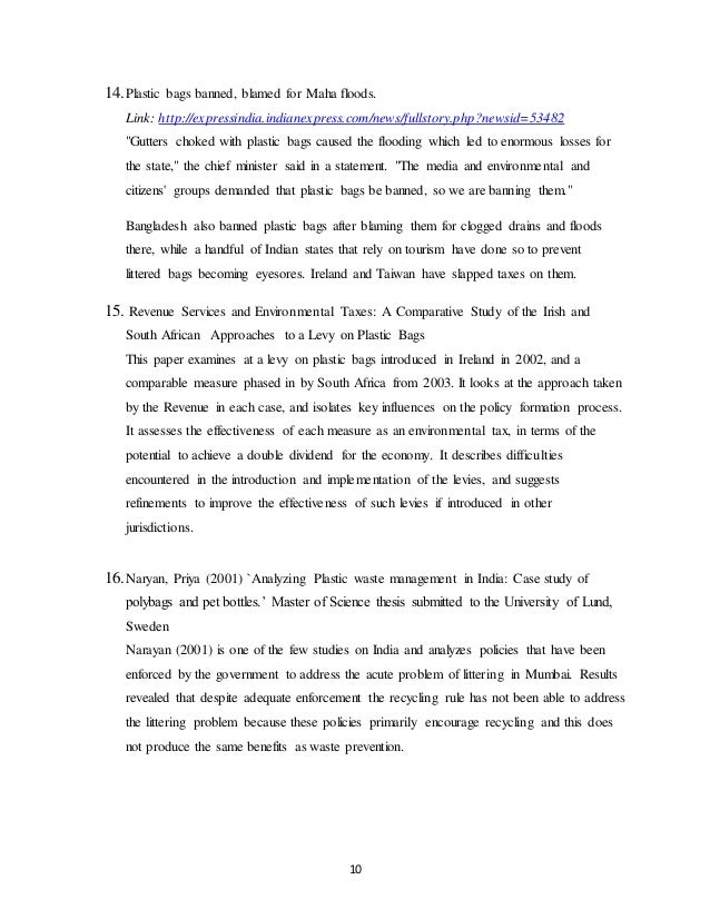 ocean pollution thesis statement