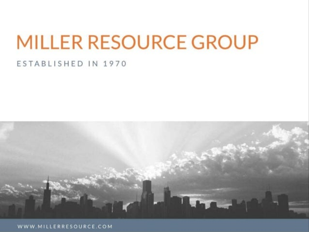 Who is Miller Resource Group