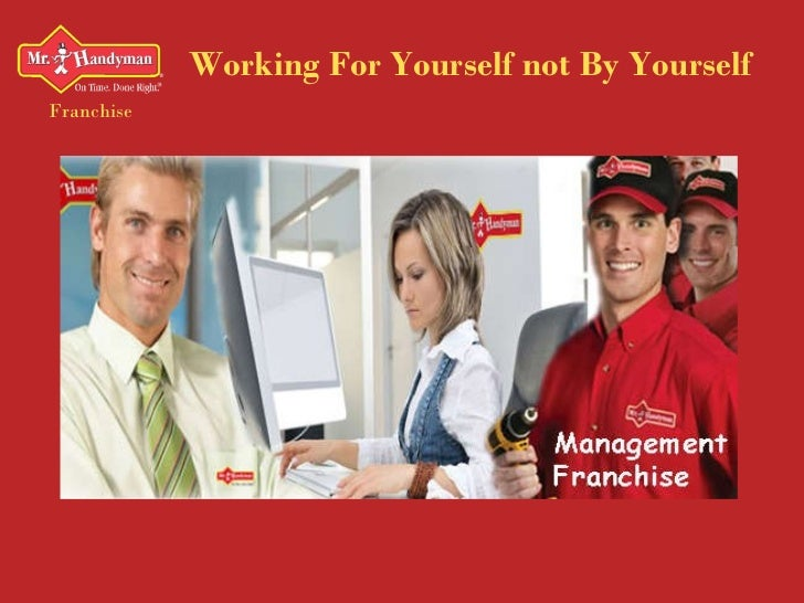 Working For Yourself not By Yourself Franchise
