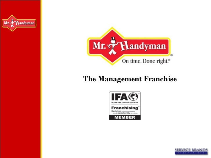 The Management Franchise