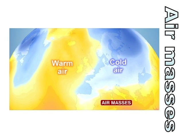 Mr Polar Continental Shade his body according to the air mass air temperature from your map. Add appropriate clothing / eq...