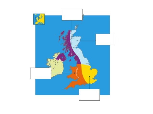•Glue a map of the British Isles onto the centre of your page. •Stick down each of your air mass Mr Happy characters in th...