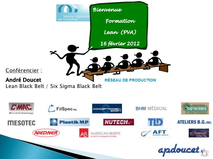 Bienvenue                                         Formation                                         Lean (PVA)            ...
